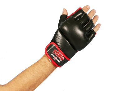 RONIN MMA HANDSCHOEN - ZWART/ROOD