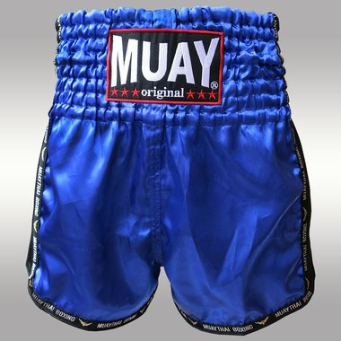 MUAY SHORT WICKED BLAUW