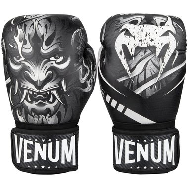 VENUM DEVIL BOXING GLOVES - BLACK/WHITE