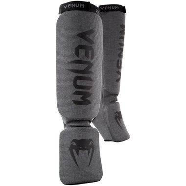 VENUM KONTACT SHINGUARDS-GREY/BLACK