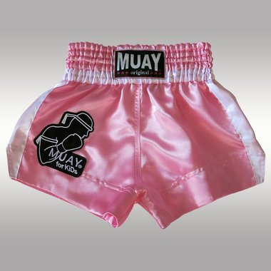 MUAY KIDS SHORT ROZE