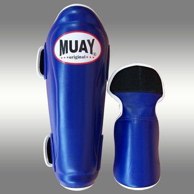 MUAY® PRO scheenbeschermers - shin and instep - Blauw