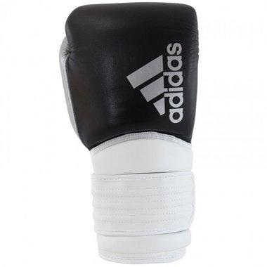 Adidas Hybrid 300 (Kick)Bokshandschoenen Zwart/Wit/Zilver