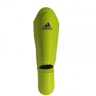 Adidas Hybrid Super Pro Scheenbeschermers Geel/Blauw