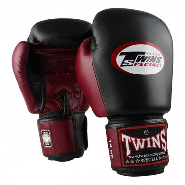 Twins BGVL 3 BLACK/WINE RED