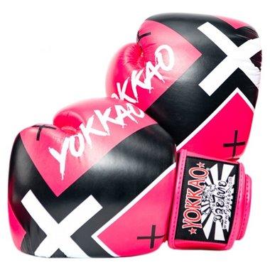 Yokkao X-Pink Muay Thai Bokshandschoenen