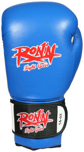 "Ronin ""Pro-Box"" bokshandschoenen Blauw"