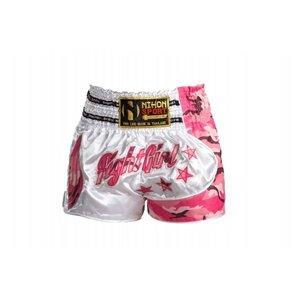 Kickboks shorts NIHON PRO LINE Roze - XS