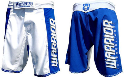 Warrior International MMA Shorts blauw