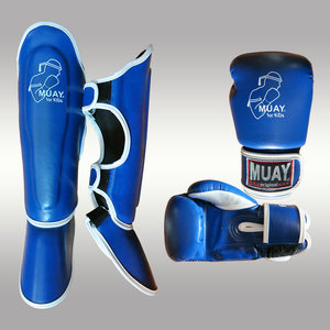 Kickboksset Kinderen MUAY - (B) BLAUW
