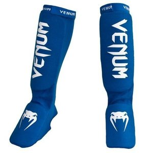 "Venum ""Kontact"" scheenbeschermers / shinguards and instep - Blauw"