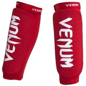 "Venum ""Kontact"" scheenbeschermers / shinguards - RED"