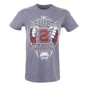 """Venum """"Built to Strike 2.0"""" T-Shirt - Grey"""