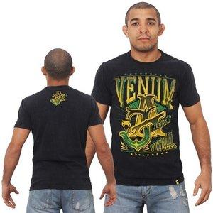 "Venum ""José Aldo Vitoria"" T-Shirt - Black/Green"
