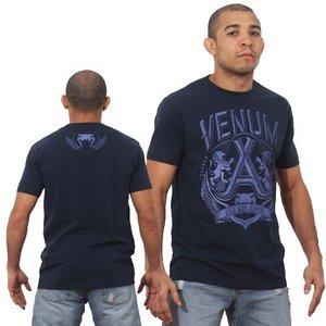 """Venum """"Jose Aldo Lion"""" T-Shirt- Blue"""