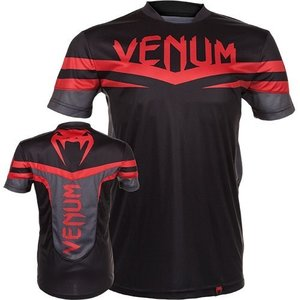 "Venum ""Sharp"" Dry Tech T - Shirt Red Devil"