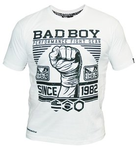"""""""Bad Boy"""" First Design Tee - White"""