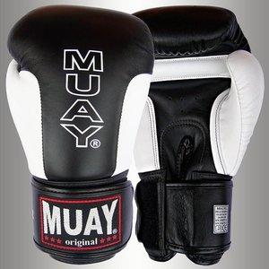 MUAY® Premium bokshandschoenen Zwart/Wit