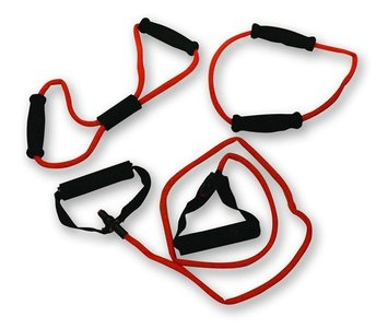 Bremshey Tubing Set - Rood (Heavy)