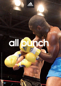 """adidas Poster """"all Punch"""""""