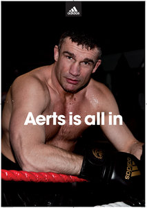 """adidas Poster """"Aerts Is All In"""""""