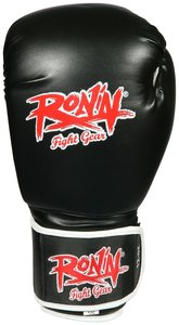 "Ronin ""Training"" bokshandschoenen Zwart"