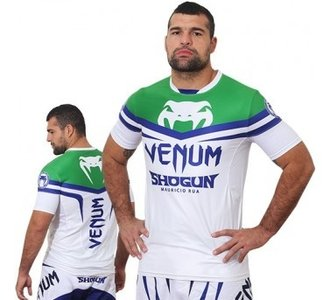 "Venum ""Shogun UFCEdition"" Dry Tech T-Shirt - Ice/Green"