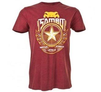 """Venum """"Sambo"""" T-shirt - Red"""