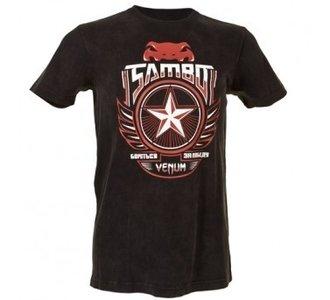 """Venum """"Sambo"""" T-shirt - Black"""